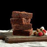 Brownies per post vegan versie